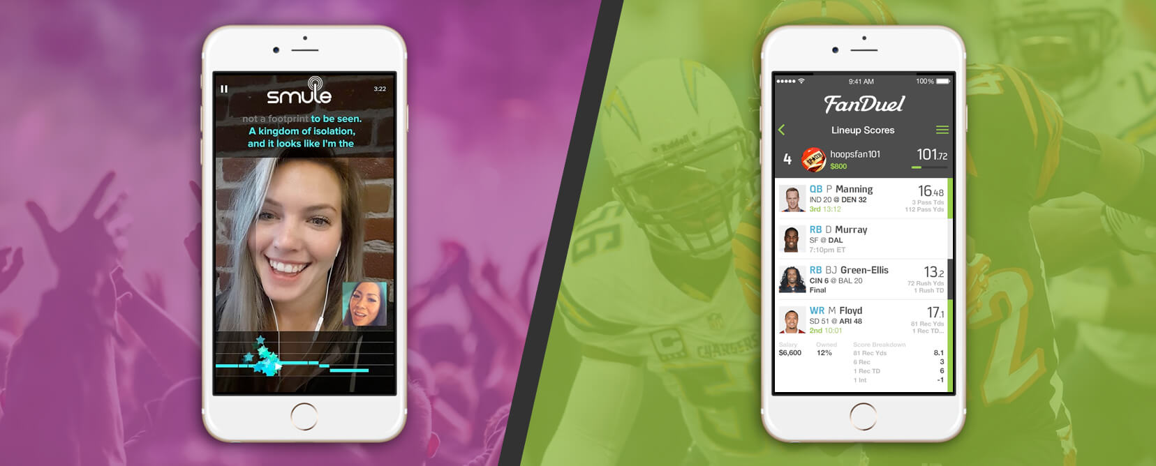 How to turn your Entertainment App into a Revenue Machine: FanDuel and Smule