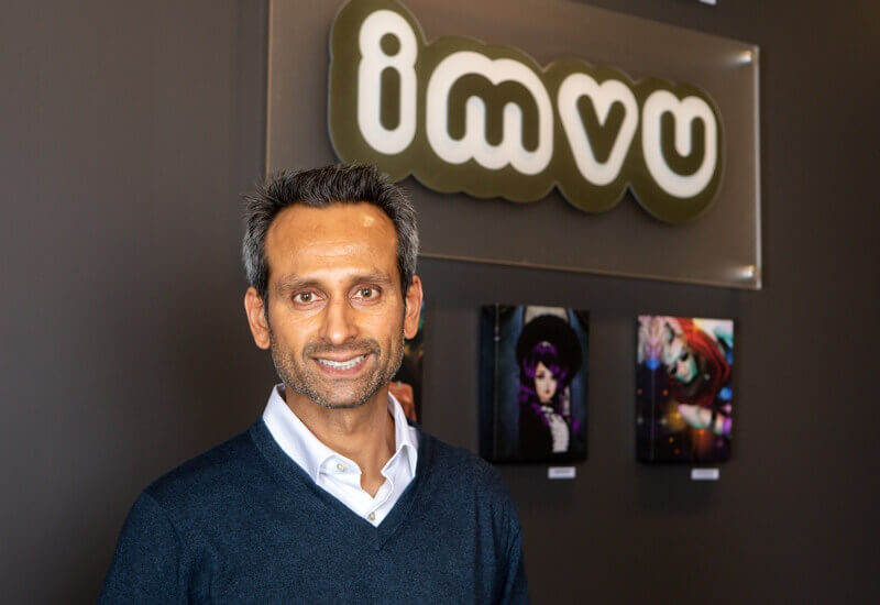 Lomit Patel - Vice President, Growth @ IMVU based in CA